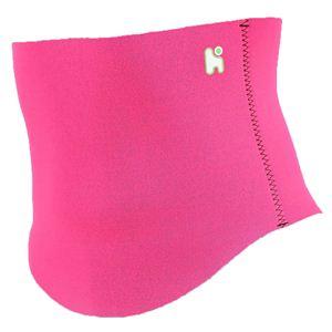 【日本製サポーター】ヘルスポイント ランニング用腹巻き(スポーツ腹巻き) ピンク S-M - 拡大画像