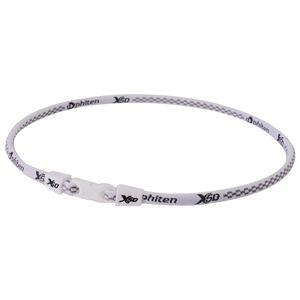 Phiten(ファイテン) RAKUWA ネック X50 チタンホワイト 55CM TF360154 - 拡大画像
