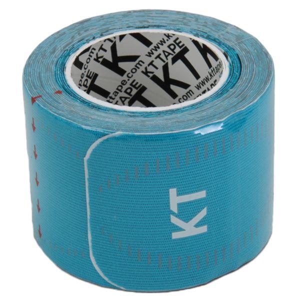 テーピング/キネシオロジーテープ 【ブルー】 幅50mm ロールタイプ 15枚入り 『KT TAPE PRO KTテーププロ』 〔スポーツ〕