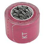 テーピング/キネシオロジーテープ 【ピンク】 幅50mm ロールタイプ 15枚入り 『KT TAPE PRO KTテーププロ』 〔スポーツ〕
