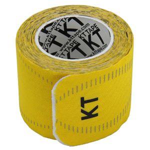KT TAPE PRO(KTテーププロ) ロールタイプ 15枚入り イエロー (キネシオロジーテープ テーピング)