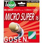 GOSEN(ゴーセン) オージー・シープ ミクロスーパー16 ホワイト TS400W