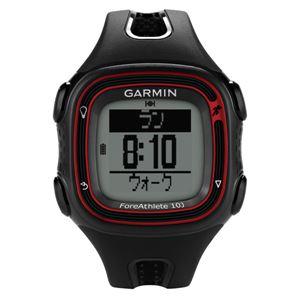 GARMIN(ガーミン) 【日本正規品】ForeAthlete10J BLACK ( フォアアスリート 10 ジェイ ブラック ) 日本版 103910 ブラック - 拡大画像