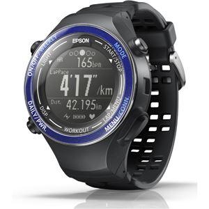 エプソン(EPSON) GPS機能・脈拍計測機能・活動量計機能搭載 Wristable GPSウォッチ SF850PS スポーティングブルー - 拡大画像