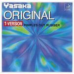 ヤサカ(Yasaka) 表ソフトラバー オリジナルTバージョン B49 レッド A