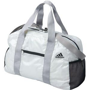 adidas(アディダス) パッカブル ボストンバッグ カラー:ホワイト