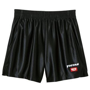 ヤマト卓球 VICTAS(ヴィクタス) 卓球パンツ V-SP030 ゲームパンツ(男女兼用) 034551 ブラック Lサイズ