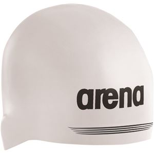 デサント ARENA(アリーナ) シリコンキャップ AQUAFORCE 3D SHIELD ARN7400 ホワイト M(50-55)サイズ
