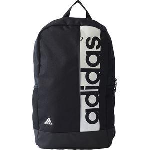 adidas(アディダス) リニアロゴバックパック ブラック×ブラック×ホワイト NS BVB25