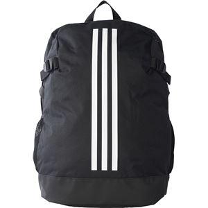 adidas(アディダス) POWER バックパック4 L ブラック×ホワイト×ホワイト L DKT82
