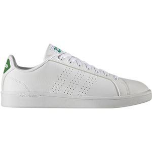 adidas(アディダス) NEO CLOUDFOAM VALCLEAN AW3914 ランニングホワイト×ランニングホワイト×グリーン 27.0cm