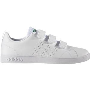 adidas(アディダス) NEO VALCLEAN2 CMF AW5210 ランニングホワイト×ランニングホワイト×グリーン 26.5cm