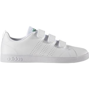 adidas(アディダス) NEO VALCLEAN2 CMF AW5210 ランニングホワイト×ランニングホワイト×グリーン 28.0cm - 拡大画像