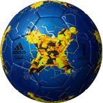 モルテン(Molten) サッカーボール4号球 クラサバ キッズ メタリックブルー AF4200B