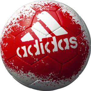 モルテン(Molten) サッカーボール4号球 エックス グライダー ホワイト×レッド AF4621WR - 拡大画像