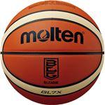 【モルテン Molten】 バスケットボール 【7号球】 天然皮革 Bリーグ公式試合球 BGL7XBL 〔運動 スポーツ用品〕