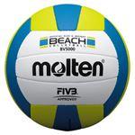モルテン(Molten) ビーチバレーボール 5号球 白×黄×青 BV5000
