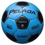 モルテン(Molten) サッカーボール4号球 ペレーダ4000 サックスブルー×メタリックブラック F4P4000CK