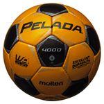 モルテン(Molten) サッカーボール4号球 ペレーダ4000 メタリックイエロー×メタリックブラック F4P4000YK