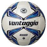 モルテン(Molten) サッカーボール4号球 ヴァンタッジオ3000 シャンパンシルバー×ブルー F4V3000