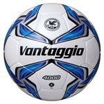 モルテン(Molten) サッカーボール4号球 ヴァンタッジオ4000 シャンパンシルバー×ブルー F4V4000