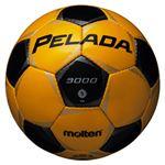 モルテン(Molten) サッカーボール5号球 ペレーダ3000 メタリックイエロー×メタリックブラック F5P3000YK