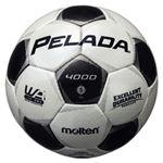 モルテン(Molten) サッカーボール5号球 ペレーダ4000 シャンパンシルバー×メタリックブラック F5P4000