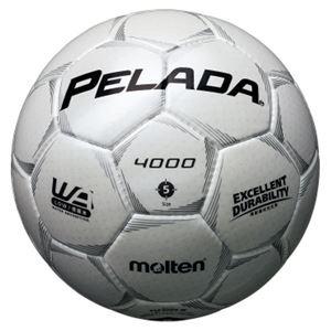 モルテン(Molten) サッカーボール5号球 ペレーダ4000 シャンパンシルバー F5P4000W - 拡大画像
