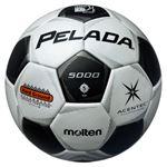 モルテン(Molten) サッカーボール5号球 ペレーダ5000土用 スノーホワイト×メタリックブラック F5P5001
