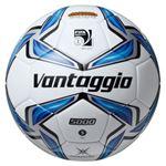 モルテン(Molten) サッカーボール5号球 ヴァンタッジオ5001土用 スノーホワイト×ブルー F5V5001