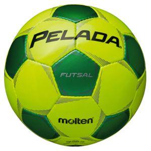 モルテン(Molten) フットサルボール4号球 ペレーダフットサル ライトイエロー×メタリックグリーン F9P3000YG