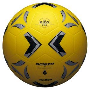モルテン(Molten) ソフトサッカーボール3号球相当 ゴラッソ ソフトサッカー イエロー×ブラック×シルバー SS3XGY - 拡大画像