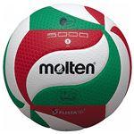 【モルテン Molten】 バレーボール 【5号球 フリスタテック】 人工皮革 V5M5000 〔運動 スポーツ用品〕