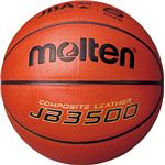 【モルテン Molten】 バスケットボール 【6号球】 人工皮革 JB3500 B6C3500 〔運動 スポーツ用品〕