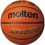 【モルテン Molten】 バスケットボール 【6号球】 人工皮革 JB4000 B6C4000 〔運動 スポーツ用品〕