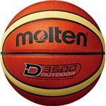 【モルテン Molten】 アウトドア用 バスケットボール 【6号球 ブラウン×クリーム】 人工皮革 高耐摩耗性 〔運動 スポーツ用品〕