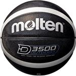 【モルテン Molten】 アウトドア用 バスケットボール 【6号球 ブラック×シルバー】 人工皮革 高耐摩耗性 〔運動 スポーツ用品〕