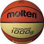 【モルテン Molten】 トレーニング用 バスケットボール 【7号球】 約1000g 天然皮革 9100 B7C9100 〔運動 スポーツ用品〕