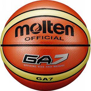 モルテン(Molten) バスケットボール7号球 GA7(オレンジ) BGA7 - 拡大画像