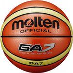 モルテン(Molten) バスケットボール7号球 GA7(オレンジ) BGA7