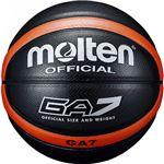 【モルテン Molten】 バスケットボール 【7号球】 ブラック 人工皮革 BGA7KO 〔運動 スポーツ用品〕