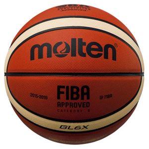 モルテン(Molten) バスケットボール6号球 GL6X 国際公認球・JBA検定球 BGL6X - 拡大画像