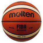 【モルテン Molten】 バスケットボール 【7号球】 天然皮革 GL7X 国際公認球 JBA検定球 BGL7X 〔運動 スポーツ用品〕