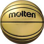 【モルテン Molten】 記念ボール バスケットボール 【7号球】 ゴールド 人工皮革 BGSL7 〔運動 スポーツ用品 イベント 大会〕