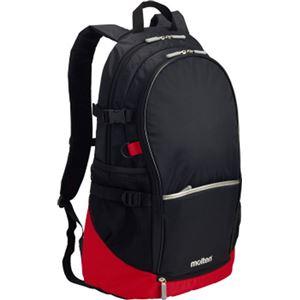 モルテン(Molten) バックパック(黒×赤) LA0013KR