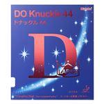 ニッタク(Nittaku) ラージボール用表ソフトラバー DO KNUCKLE 44(ドナックル44) NR8578 ブラック CU(超極薄)