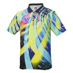 ニッタク(Nittaku) 卓球アパレル SPINADO SHIRT(スピネードシャツ) ゲームシャツ(男女兼用) NW2176 ネイビー L