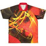 ニッタク(Nittaku) 卓球アパレル CLOUDER SHIRT(クラウダーシャツ)ゲームシャツ(男女兼用・ジュニアサイズ対応) NW2177 レッド 2XO