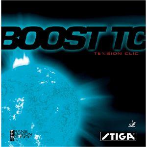 STIGA(スティガ) テンション系裏ソフトラバー BOOST TC(ブースト TC) ブラック 特厚