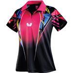 バタフライ(Butterfly) 卓球アパレル SPACIA SHIRT(スペーシア・シャツ) 45319 ピンク RXO